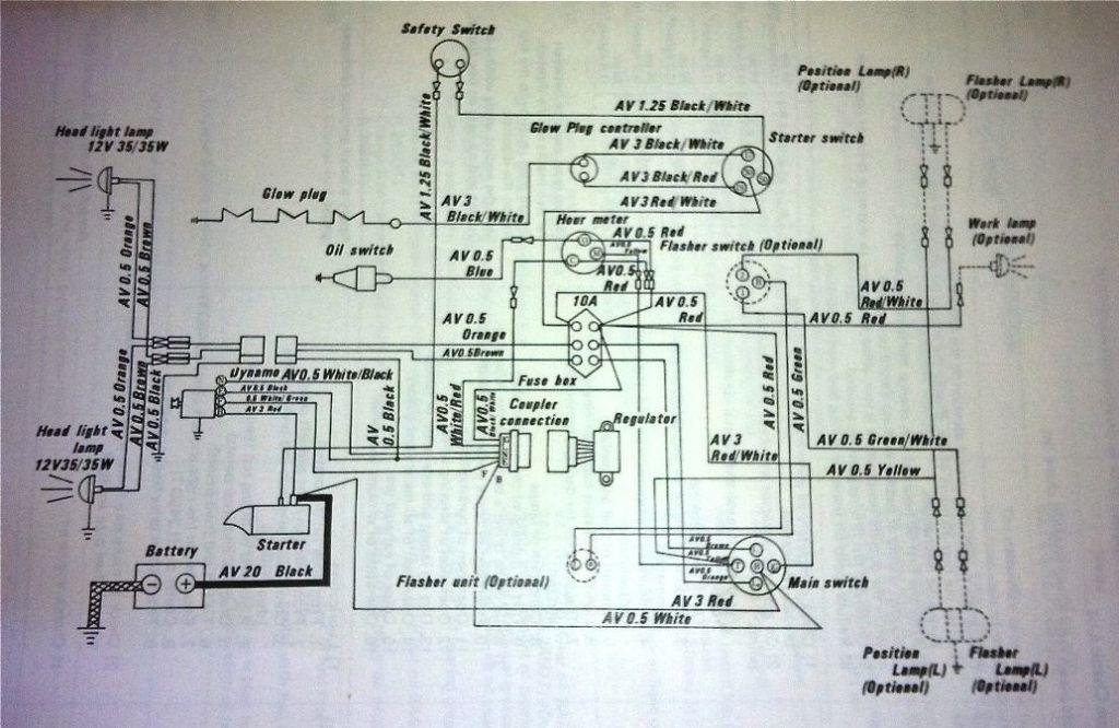 Kubota B8200 Wiring Diagram