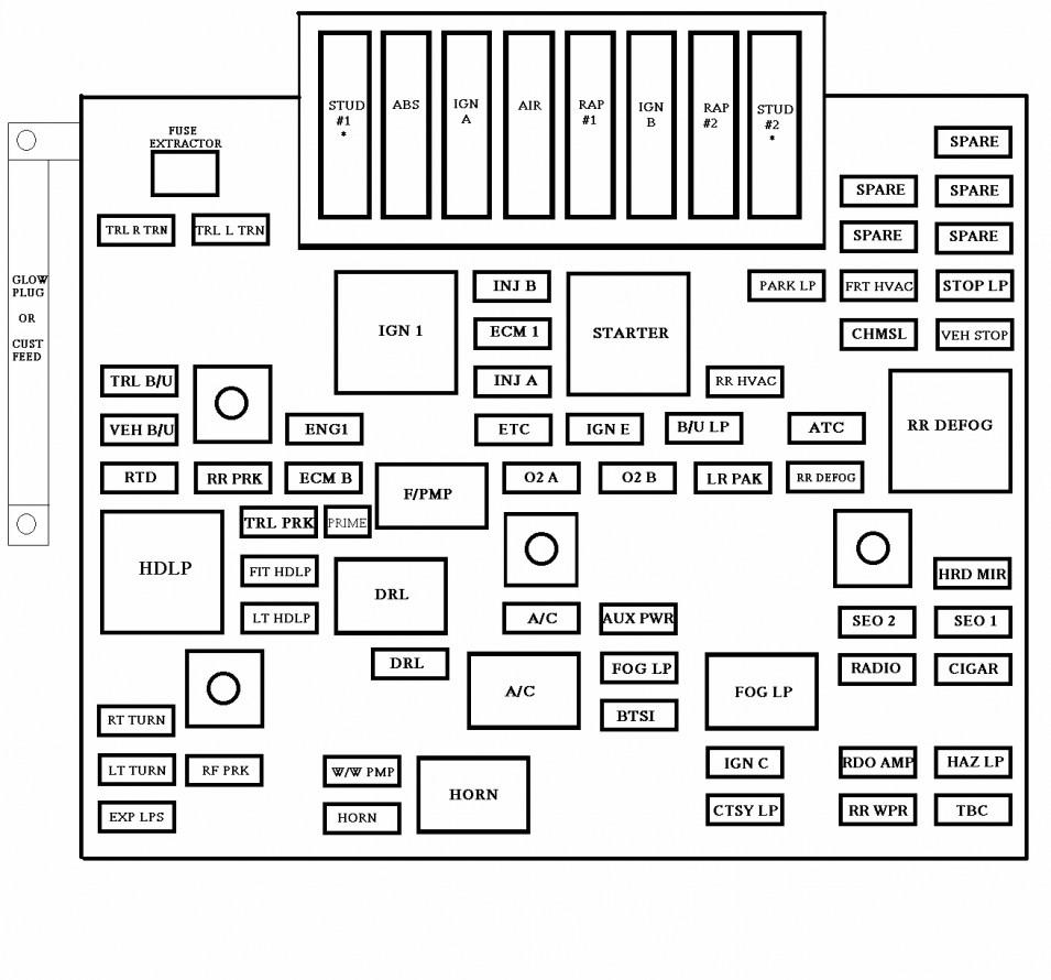 Zafira Wiring Diagram