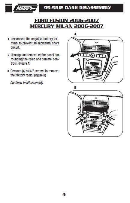 DV_2523] 2007 Ford Fusion Radio Display Wiring Diagram