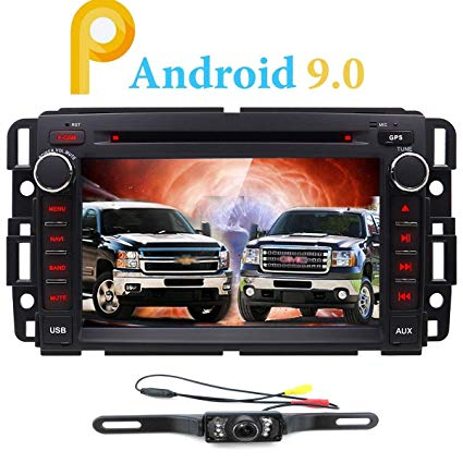 Awe Inspiring Amazon Com Android 9 0 Car Stereo Dvd Player For Gmc Chevy Wiring Cloud Licukshollocom