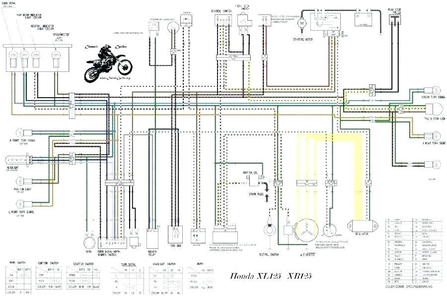 Honda Xrm 110 Wiring Diagram Pdf