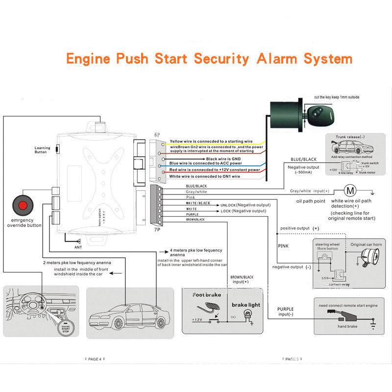 meta car alarm wiring diagram  boat gauges wiring diagram