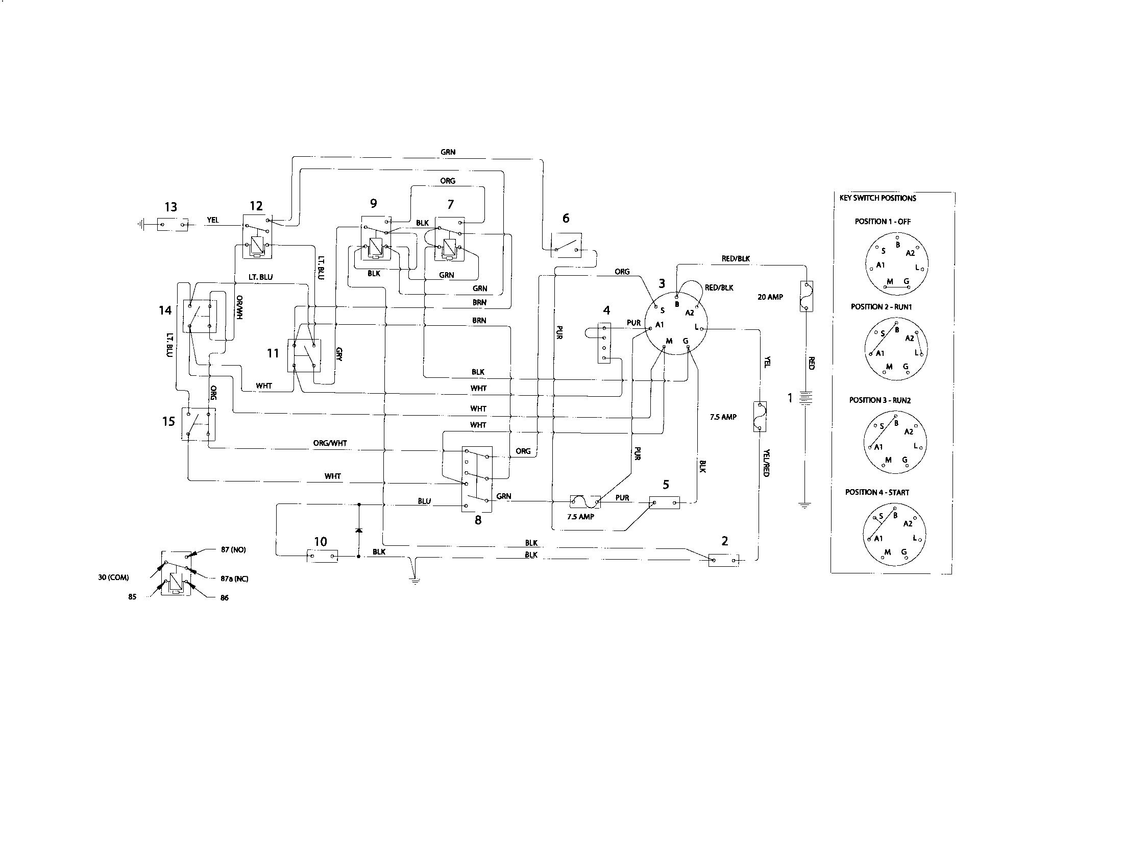 Wiring Diagram For Husqvarna Riding Mower