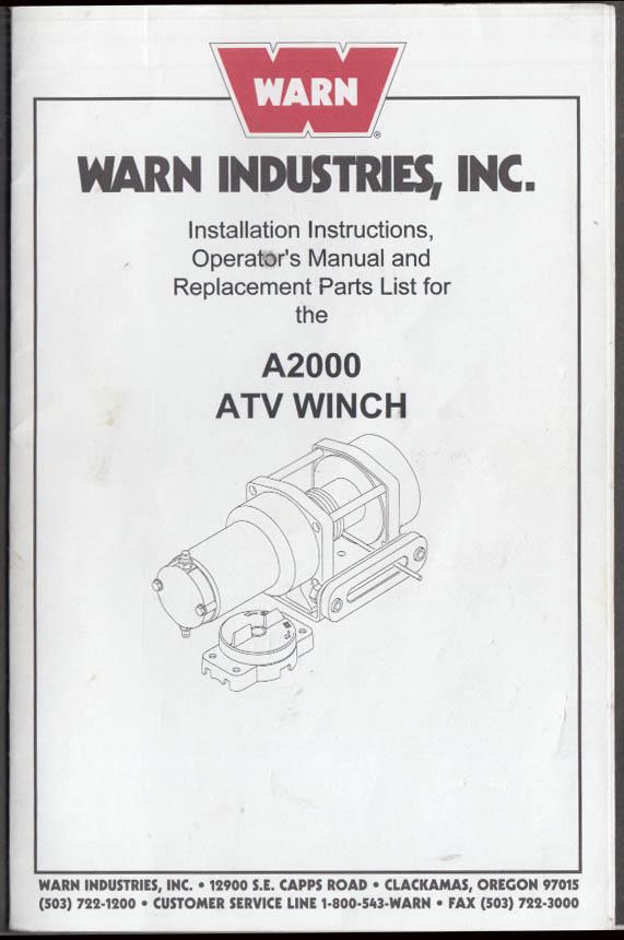 warn winch wiring diagram 75000 - wire management & wiring diagram warn a2000 winch wiring diagram  mega-tarife.de