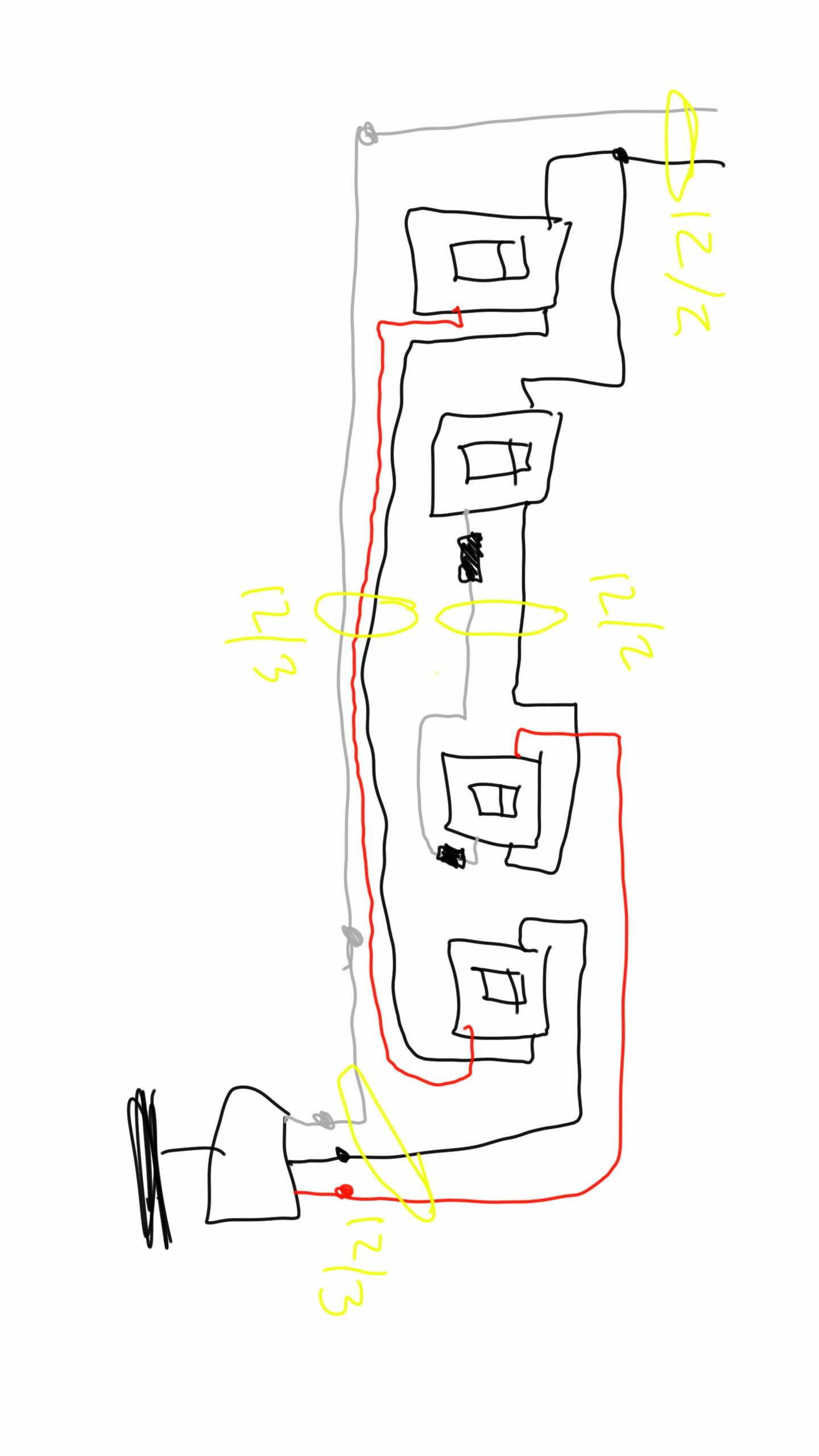 dual switch wiring diagram ceiling fan cs 7718  install 3 way fan switch  cs 7718  install 3 way fan switch