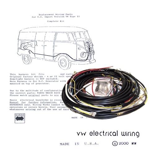 Terrific Wiring Works Wiringworks Vw Bug Replacement Wiring Harness Wire Wiring Cloud Grayisramohammedshrineorg