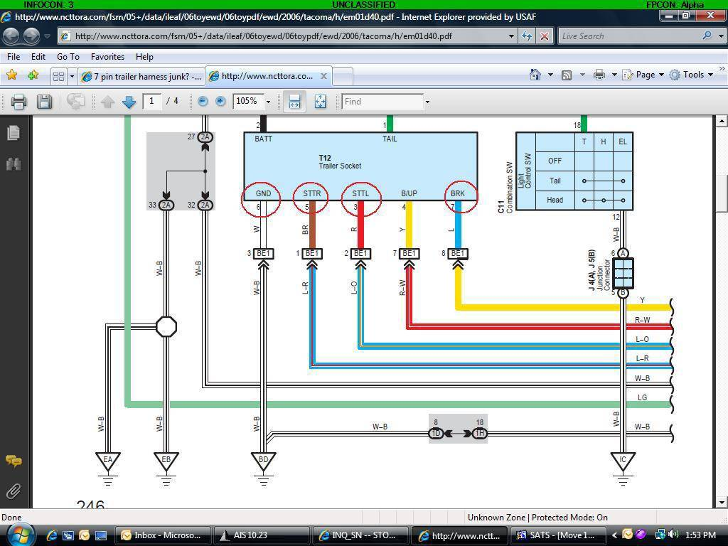 [NRIO_4796]   BH_7319] 2006 Tacoma Trailer Wiring Diagram Download Diagram | 2007 Tacoma Trailer Wiring 4 Pin Harness |  | Skat Cosa Funi Majo Pead Viewor Mohammedshrine Librar Wiring 101
