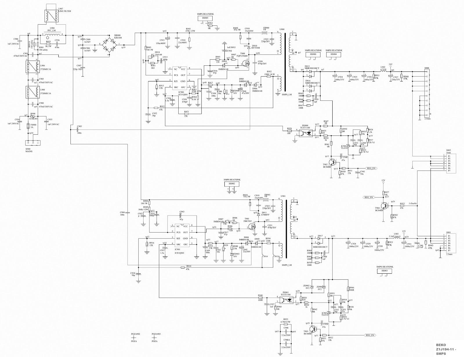 Beko Cooker Wiring Diagram