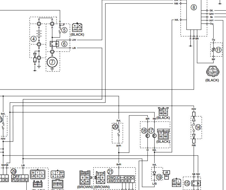 1995 350 Yamaha Atv Wiring Diagrams Rupp Snowmobile Wiring Diagram Bege Wiring Diagram
