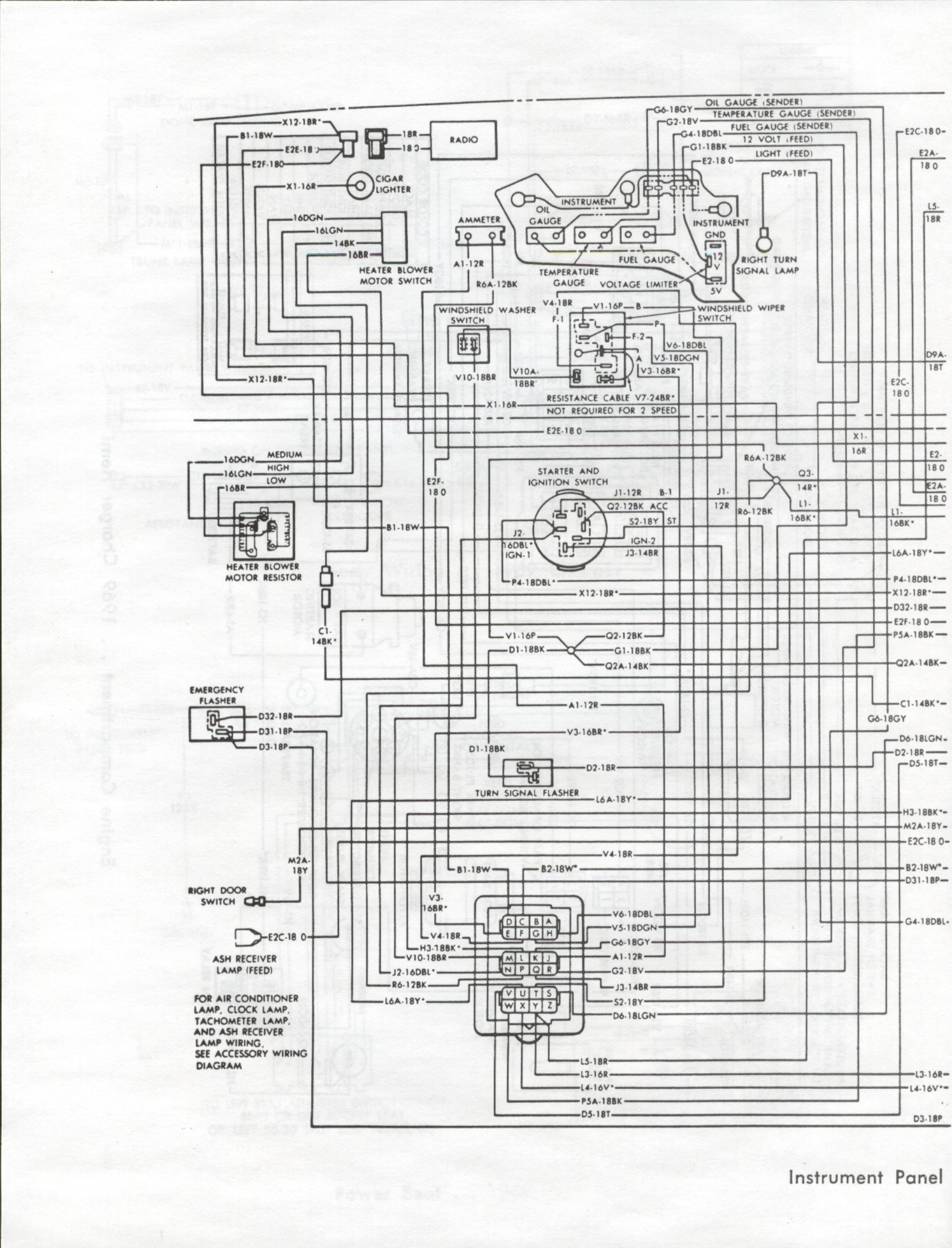 1969 Dodge Charger Instrument Panel Wiring Diagram Intertherm Heater Wiring Diagram Bege Wiring Diagram