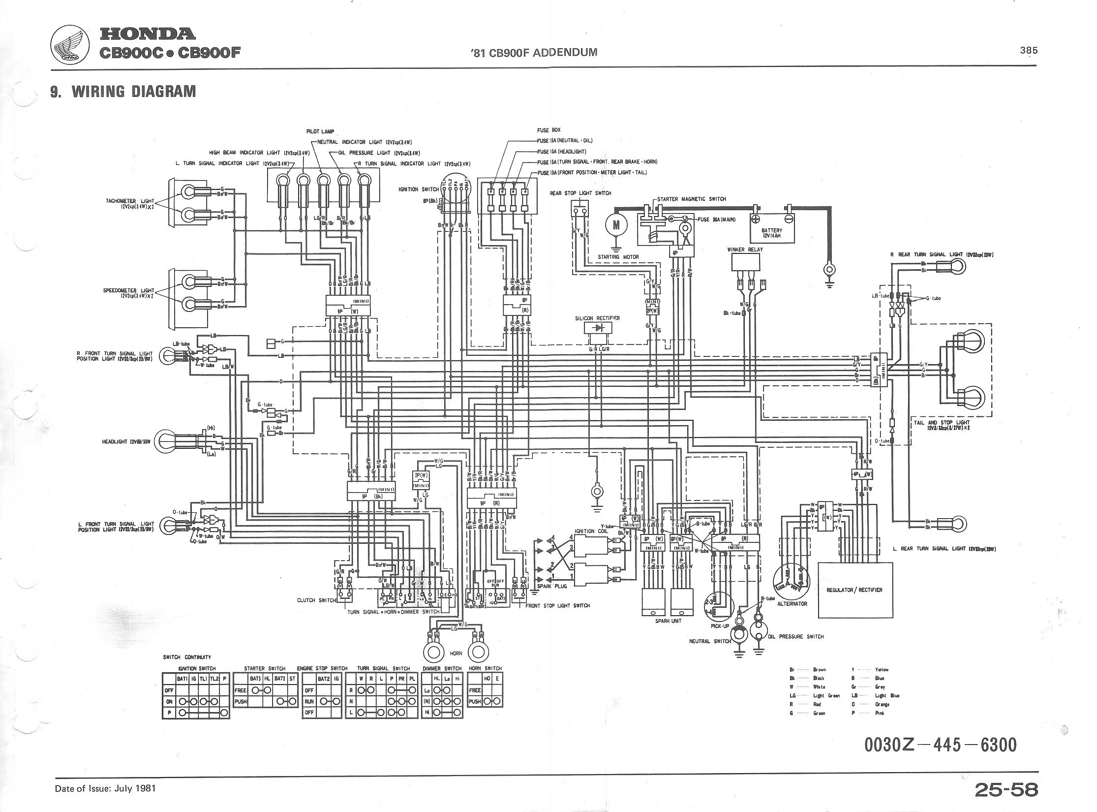 cb750 93 wiring diagram - 220 volt motor wiring diagram 12 lead for wiring  diagram schematics  wiring diagram schematics