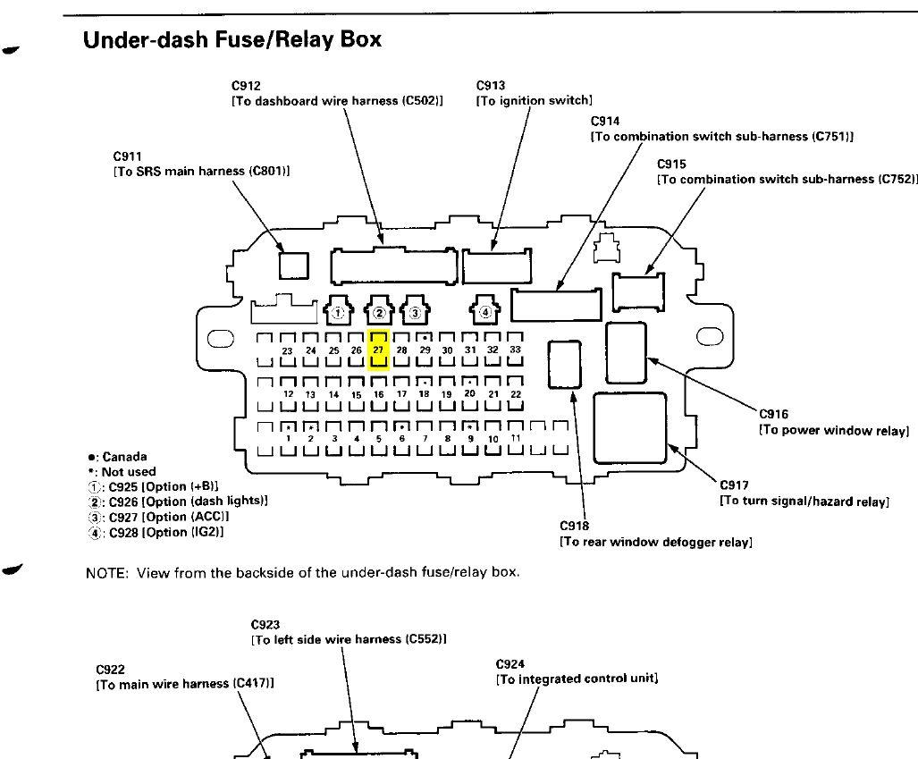 Astounding 97 Honda Engine Diagram Wiring Library Wiring Cloud Itislusmarecoveryedborg