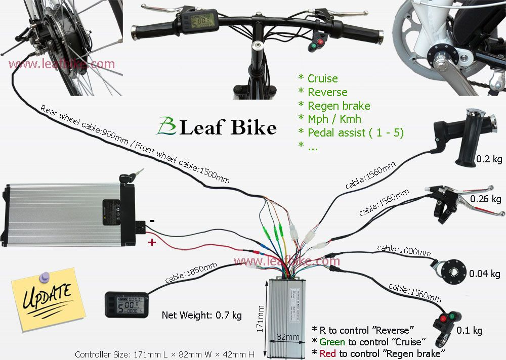 Magnificent 750W Electric Bike Conversion Kit Wiring Diagram Controller Wiring Wiring Cloud Onicaalyptbenolwigegmohammedshrineorg
