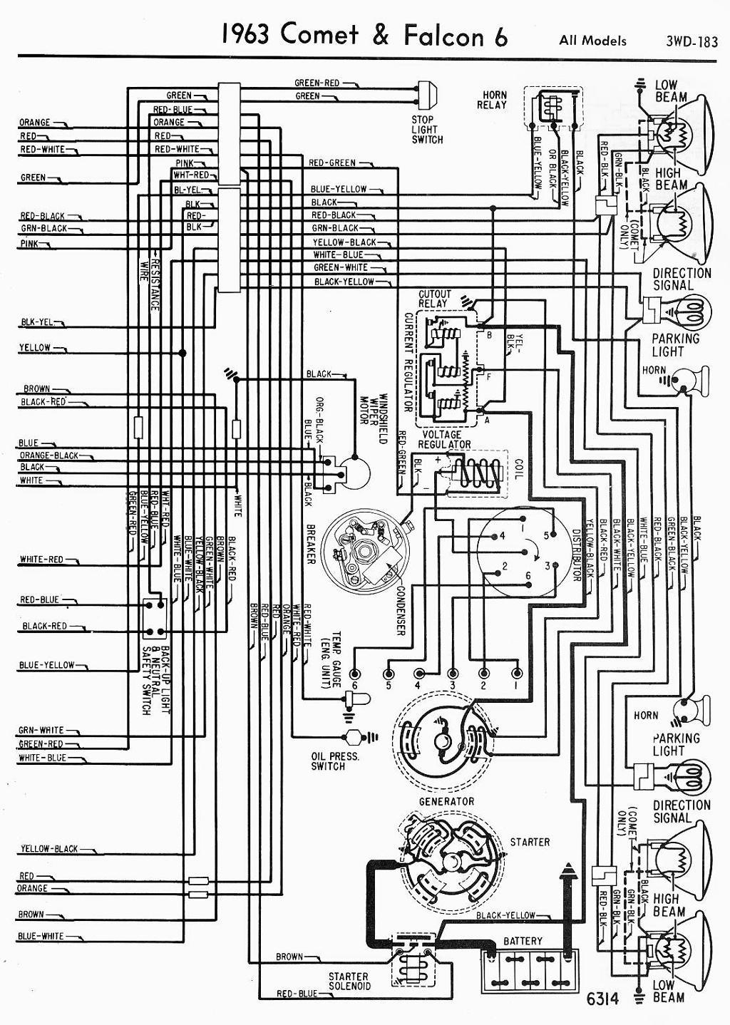 1963 Fairlane Wiring Diagram - Wiring Diagrams DataUssel