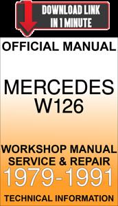 Awesome Download Service Repair Official Workshop Manual Mercedes W126 Wiring Cloud Counpengheilarigresichrocarnosporgarnagrebsunhorelemohammedshrineorg