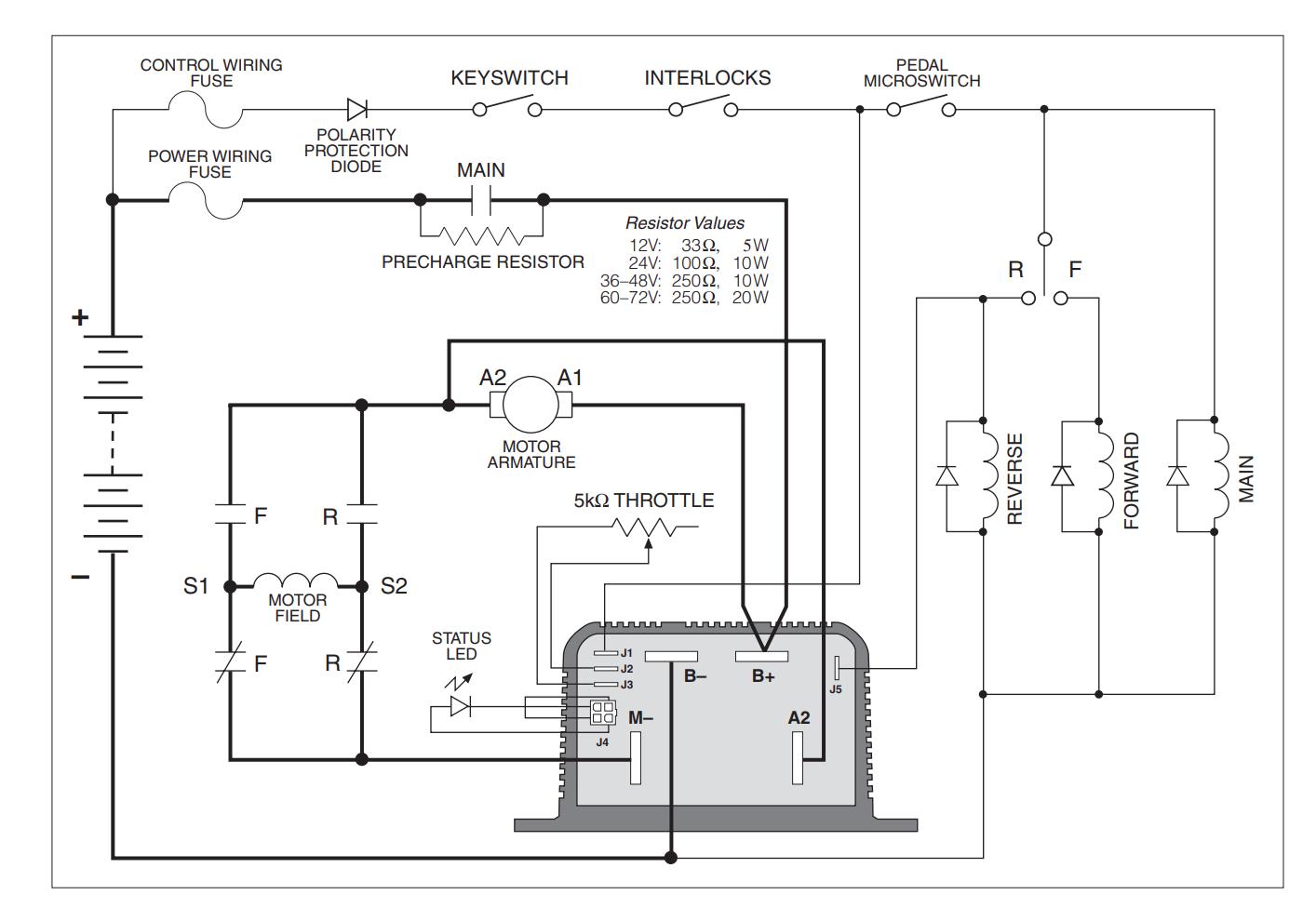 Reversing Motor Contactor Wiring Diagram