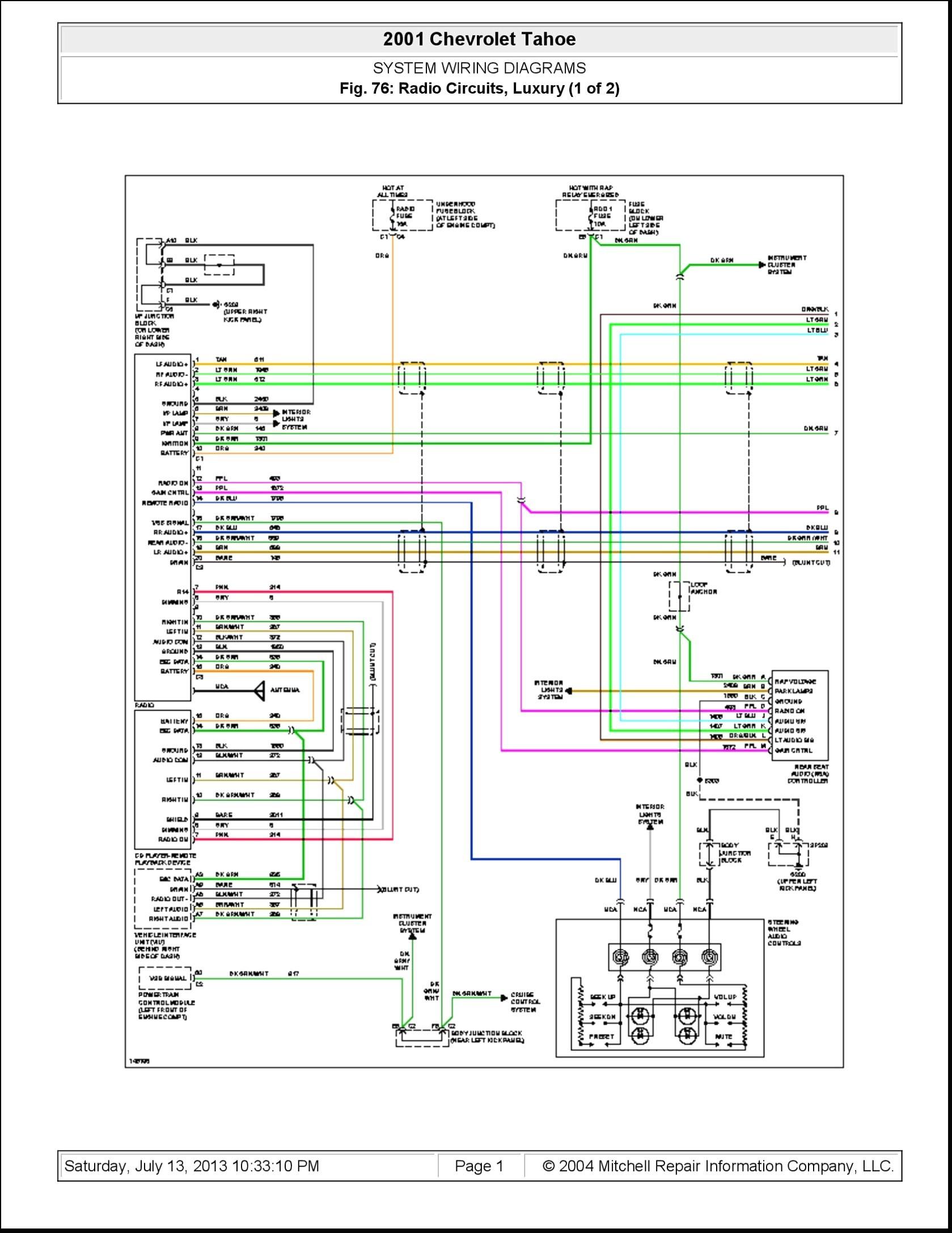 2004 Gmc Sierra Radio Wiring Harness Diagram Pics - Wiring ...