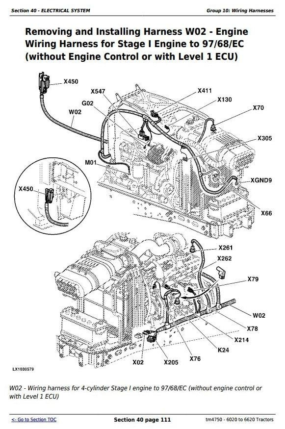 Wondrous Deere Tractors 6020 6120 6220 6320 6420 6520 662 Jdtractors Wiring Cloud Inklaidewilluminateatxorg