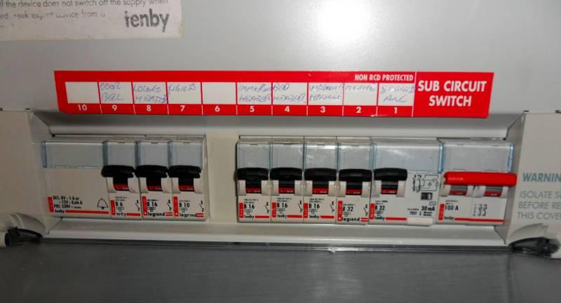 Wiring Diagram For Rcd Garage Consumer Unit