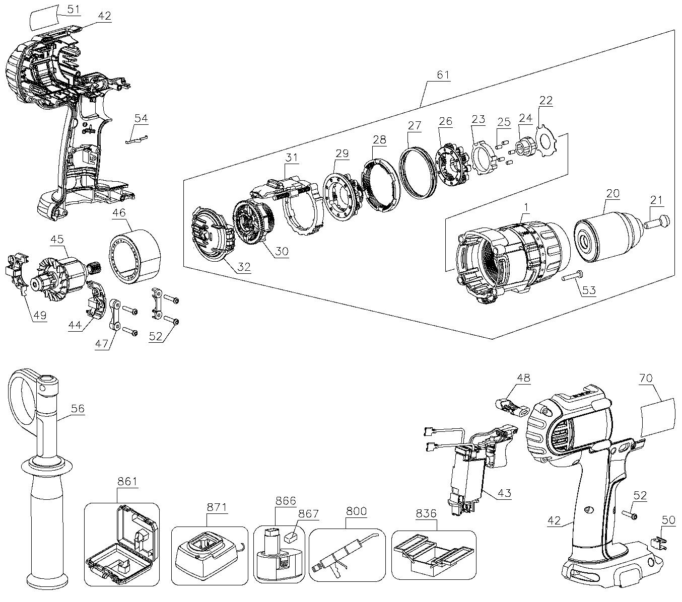 [DIAGRAM_1JK]  EV_0879] De Walt Power Tool Wiring Diagrams Schematic Wiring | De Walt Power Tool Wiring Diagrams |  | None Inki Isra Mohammedshrine Librar Wiring 101