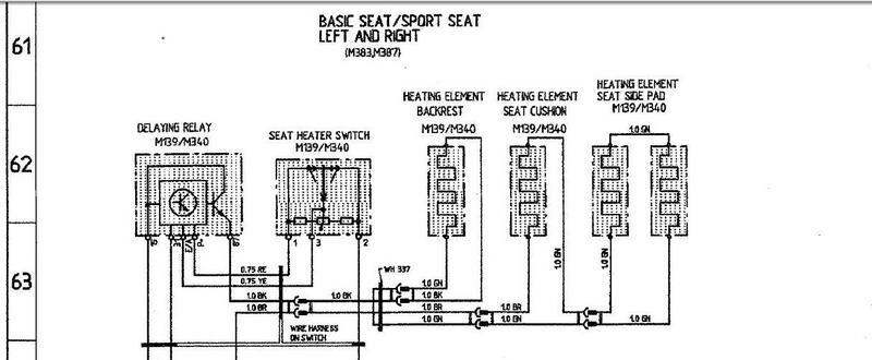 Vw Jetta Heated Seat Wiring Diagram
