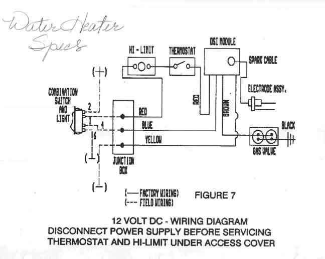 Admirable Rv Water Heater Wiring Diagram Basic Electronics Wiring Diagram Wiring Cloud Ittabisraaidewilluminateatxorg