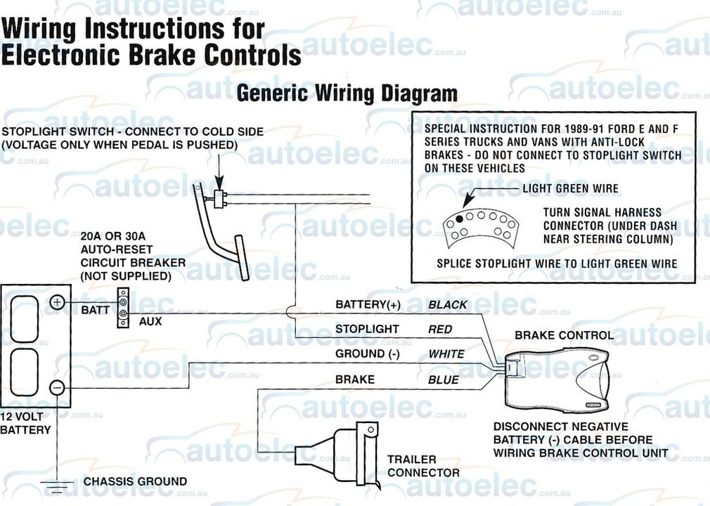 Os 4032 Primus Electric Brake Controller Wiring Diagram Free Diagram