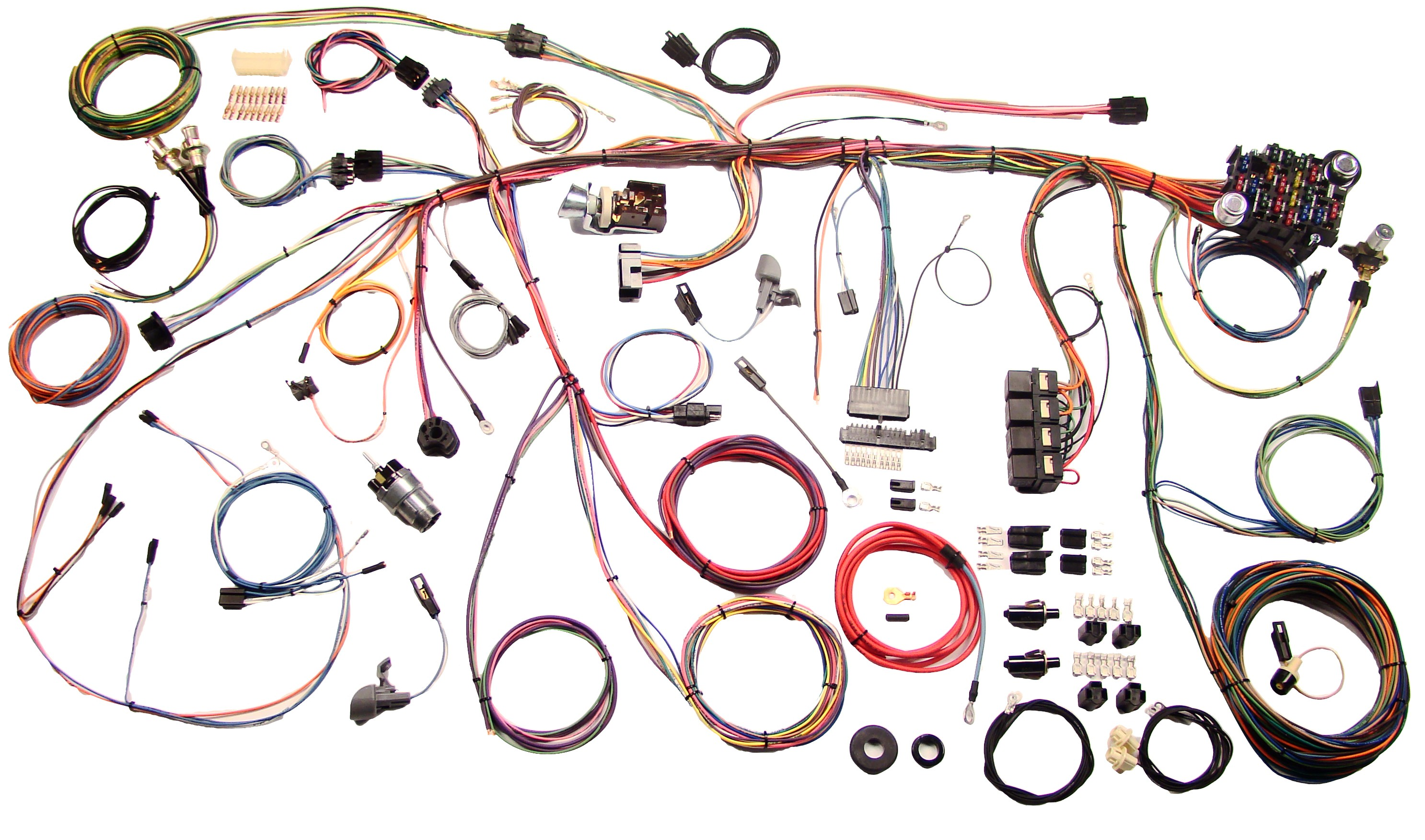 Cool Speed American Autowire 510177 Ford Mustang 1969 Wire Harness Shop Wiring Cloud Loplapiotaidewilluminateatxorg