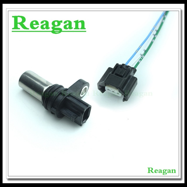 2-Way Camshaft /& Crank Position Sensor Connector Plug harness Replacement for Nissan VQ35