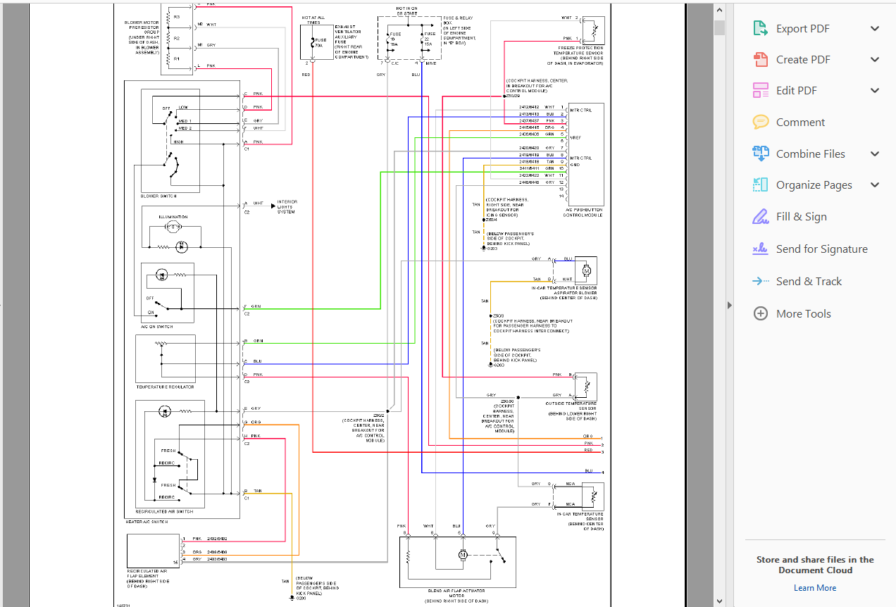 Mercedes Ml W163 Wiring Diagram