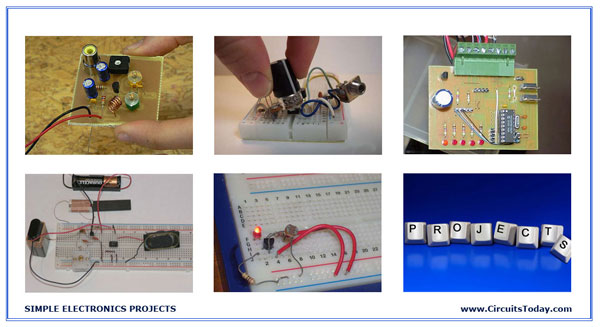 Pleasant Simple Electronic Projects Circuit Diagram Electrical Blog Wiring Cloud Onicaxeromohammedshrineorg