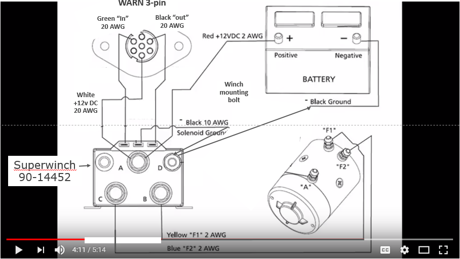 diagram warn 8000 winch wiring diagram full version hd