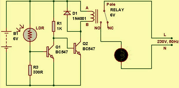 Marvelous Light Sensor Circuit Diagram With Working Operation Wiring Cloud Loplapiotaidewilluminateatxorg