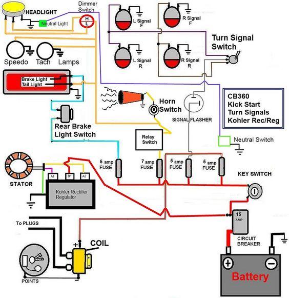 Fine Honda Motorcycle Coil Wiring General Wiring Diagram Data Wiring Cloud Mousmenurrecoveryedborg