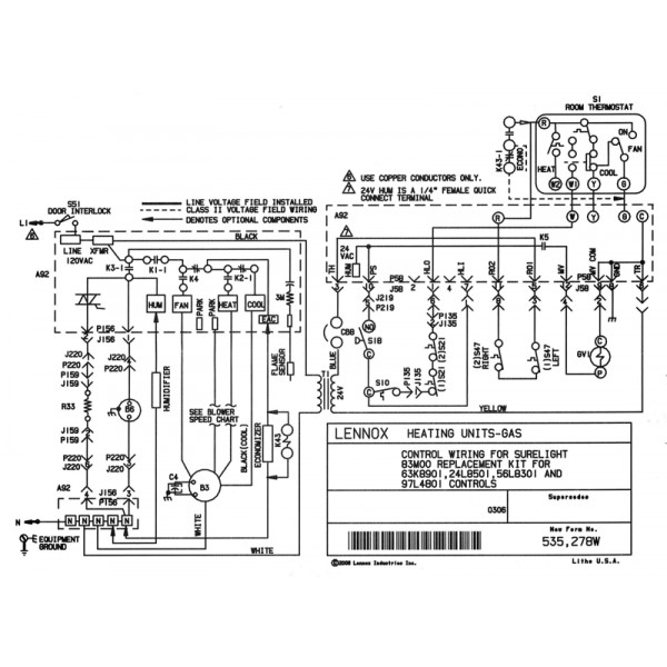 Wy 6962 Ducane Armstrong Lennox Furnace Control Board 23l53 23l5301 Ebay Download Diagram