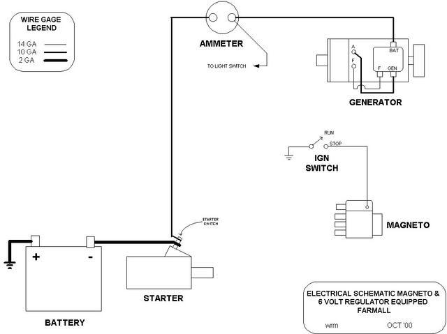 Farmall Cub Wiring Diagram 6 Volt