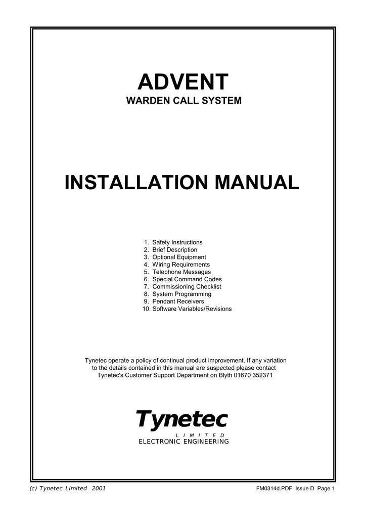 Cool Advent Tynetec Manualzz Com Wiring Cloud Faunaidewilluminateatxorg