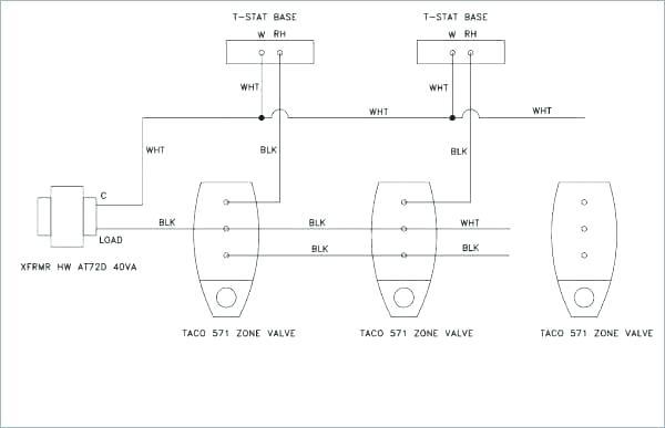 heating zone valve wiring diagram  melex 212 golf cart