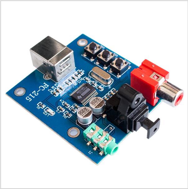 Swell Pcm2704 Usb Dac To S Pdif Sound Card Decoder Board 3 5Mm Analog Wiring Cloud Faunaidewilluminateatxorg