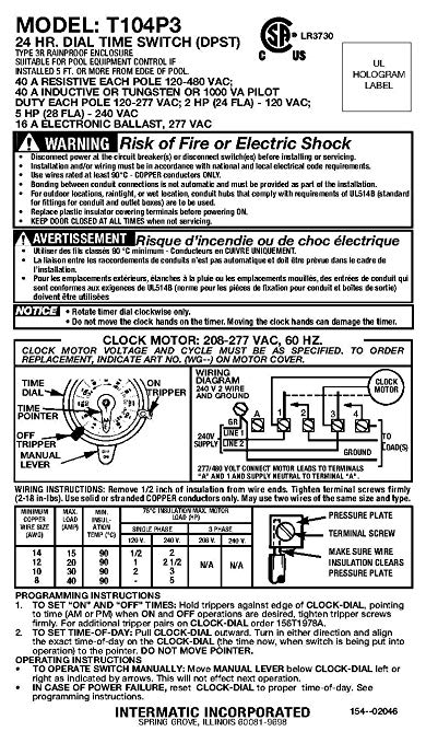 t104p3 wiring diagram zb 6233  intermatic low voltage wiring diagram get free image  intermatic low voltage wiring diagram
