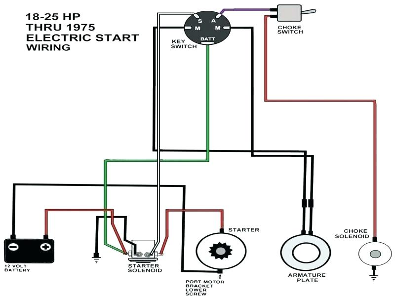 mercury outboard wiring diagram ignition switch  wiring