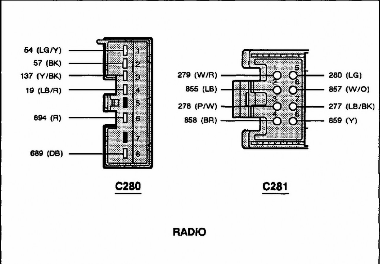 2001 Ford Mustang Radio Wiring Diagram Images