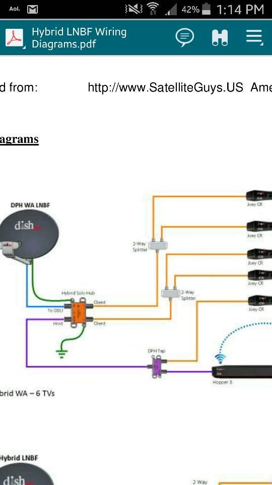 dish network satellite wiring diagram ks 0962  hybrid dish network wiring diagram wiring diagram  dish network wiring diagram wiring diagram