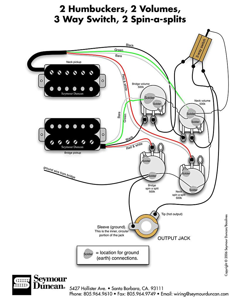 Enjoyable Seymour Duncan Wiring Diagrams Basic Electronics Wiring Diagram Wiring Cloud Ymoonsalvmohammedshrineorg