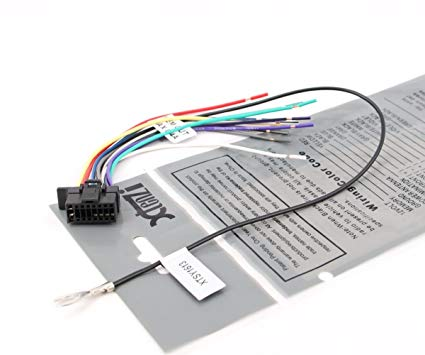 Pleasant Amazon Com Xtenzi Radio Wire Harness Compatible With Sony Wx Gt80Ui Wiring Cloud Rineaidewilluminateatxorg