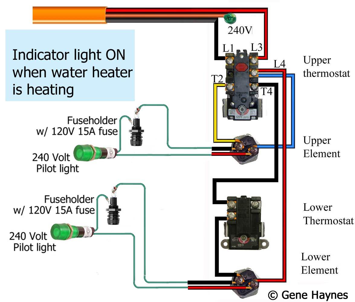 Groovy How To Wire Water Heater Pilot Light Wiring Cloud Cranvenetmohammedshrineorg