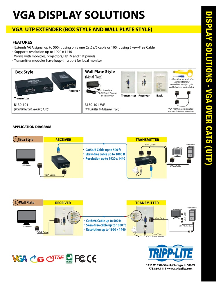 Vga To Cat5 Wiring Diagram Collection