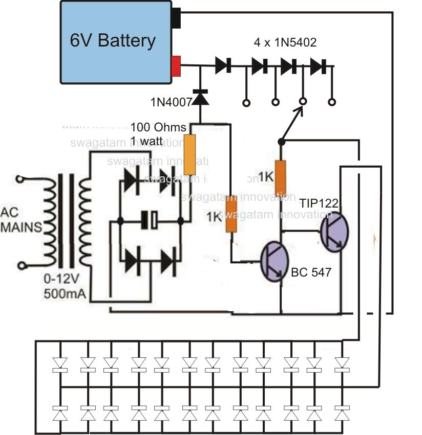 circuit diagram of 6v emergency light cr 4356  in circuit inverter moreover led emergency light circuit  in circuit inverter moreover led