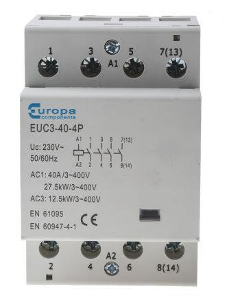 Astounding Europa Contactor Wiring Diagram Basic Electronics Wiring Diagram Wiring Cloud Monangrecoveryedborg