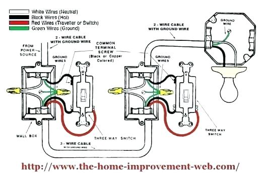 3 Way Wiring Diagram  Switch - Database